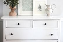 Winter decor {after Christmas}