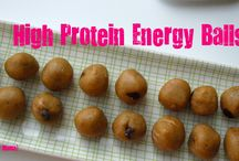 Healthy protein snacks / by Kimberly Lackey