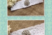 Lilly Dilly's Handmade Bespoke Wedding Garters / Luxury, bespoke handmade garters created exactly to personal requirements and made to measure!