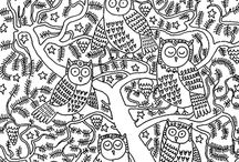 Owls and other graphic series