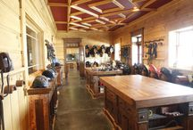 Tack Rooms / A horse barn is not complete without a tack room. Check out www.custombarnbuilding.com for more pictures from B&D Builders' project gallery.