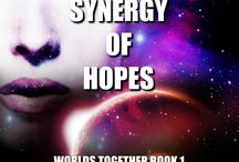 Worlds Together / Images surrounding my Science Fiction Universe and the books written in it.