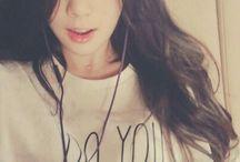 Taeyeon tóc dài