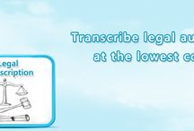 Legal Transcription Services / Legal Transcription Services for testimonials, Pleadings, Recordings,Hearings,Summons at economical prices Call 1-877-323-4707.