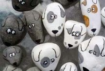 Stone art for kids