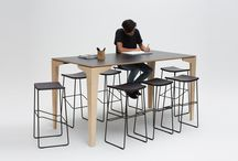 DINING TABLES + BAR LEANRERS