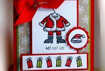 Cards - SU Get Your Santa On