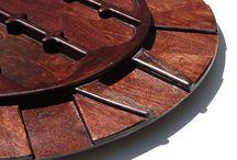 Games / dominion board game card hub orginizer that rotates.