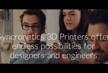 3D Printers / Visit Us at www.syncronetics.com Syncronetics specializes in the development and implementation of innovative business and engineering solutions which increase revenues and control costs.