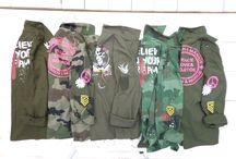Kaki & Camouflage / Idées cadeaux qui surfent sur la tendance Army // #LittleMarcel #kaki #militaire #mode #summer #army