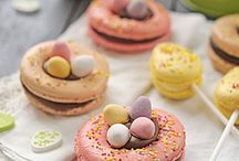 macarons paques