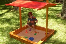 Sandboxes and outdoor play / by Becky Harris