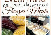 recipes - freezer meals