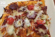 Pizza börek çörek