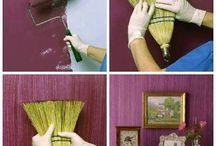 tecnicas para pintar paredes