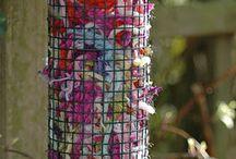 Bird boxes/fedders