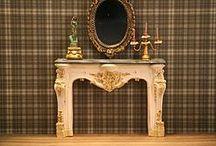 Montheron Dollshouse Miniature Fireplaces