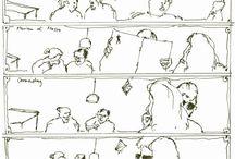 skizzen comics / sequenzen skizzen bildergeschichten tagebuch
