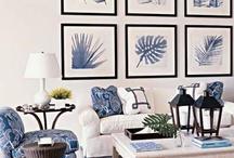 Blue & White interiors