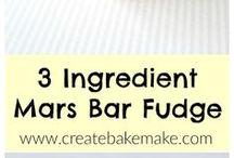 Mars bar fudge.