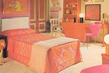 70s inspired bedroom design