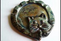 Koty z Kota - ceramic cat / Nasza ceramika :)