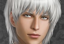 PEOPLE • Male • White Hair