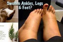 swollen feet and ankles