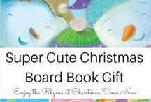 Toddler Christmas Board Book Gift Ideas ($6 and Under) / gift ideas for toddlers, christmas board books, frugal christmas board books, 2016 Christmas board books for toddlers, the Itsy Bitsy Snowman, Llama Llama Jingle Bells, Christmas in the Manger, Clubhouse Chrismas book, The Itsy Bitsy Reindeer, Slide and Find Books, Finger Puppet Books,