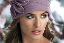 шляпки и шарфы