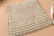 Crochet - Skirts & Shorts & Swimsuits