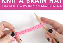 Knitting patterns we love / All of our favorite knitting patterns, both free and paid patterns. Whatever you want to knit, clothes, scarves, fun accessories or things for the home - you'll be sure to find a great knitting pattern for it here.