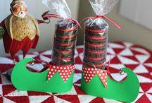 χριστουγεννιάτικη συσκευασία γλυκών
