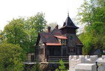 Polskie leśniczówki i domki ogrodnika