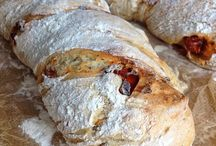 Brot für Weinprobe