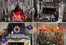 Halloween/Spooky/Scary / October stuff / by Lincoln Hett