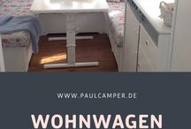 Camper DIY / Do It Yourself renovation.  Doesn't matter if you need inspiration for your interior fittings, decoration or your travel bathroom - here you can find a lot of tipps about your house on wheels.