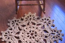 crochetting / crochetting projects!
