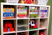 Play Room / Setting up an organized and fun play room for the kids! / by Mommy Hates Cooking