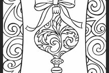 Holiday coloring / Holiday coloring pages