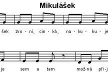 ČERT a MIKULÁŠI - písničky, PL a jiné nápady