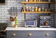 Gray Kitchen Inspiration / Light, dark and everything in between, we love all shades of gray for kitchen cabinetry.
