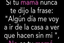 Frases mamás