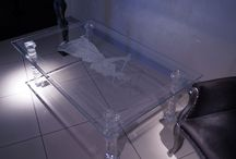 TABLES EN VERRE / Glass tables from our collection are the combinations of 30-year experience in glass work and the latest trends in the Italian design. Our tables are intended for people who take pleasure from the things surrounding them. The tables that we have the pleasure to present to you are excellent examples of modern glass furniture. Their delicate appearance is suitable for every interior.