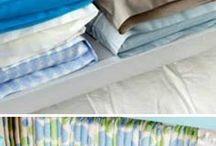 como guardar sábanas