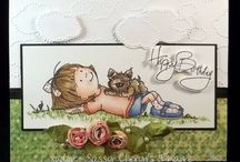 Cards-Sassy Cheryl Stamps / by Martha Zender