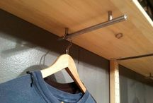 Rangement garde-robe