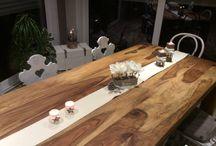 Tischdekoration / Eßzimmer
