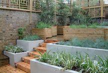 Split level gardens