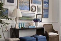 Arranging / furniture arrangement inspiration, storage inspiration, interior design, home decor, organization ideas, bookshelves, full wall bookshelves, built-in wall shelves